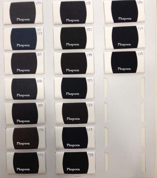 ตัวอย่างผ้าสำหรับตัดสูท | ร้านสูท พพร บริการตัดสูท ชุดสูท เสื้อเชิ้ต ชุดปกติขาว ครบวงจร
